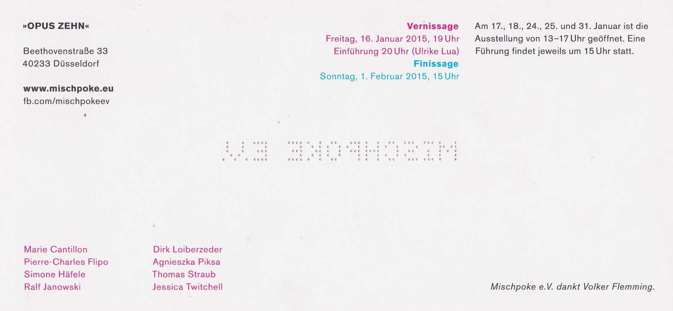 Mischpoke_Opuszehn_Back